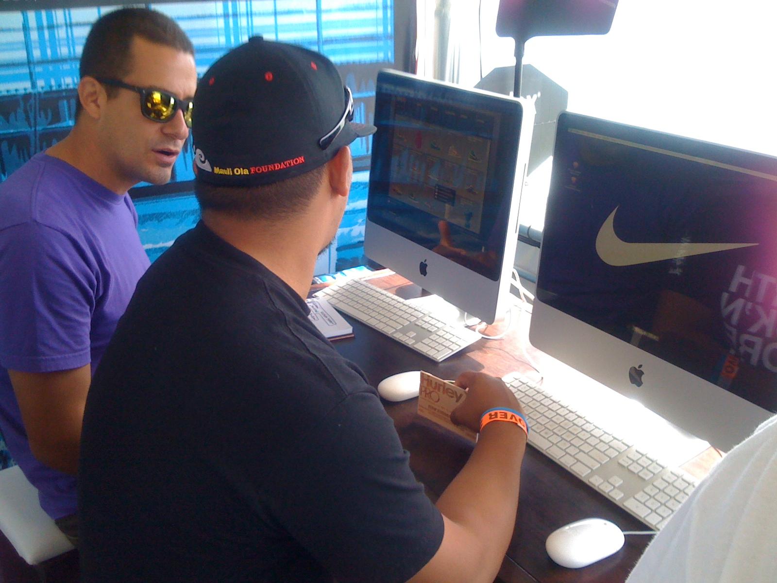 Nike Design Station