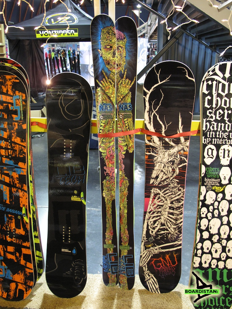 Lib Tech\'s Narrow Ass Snowboards