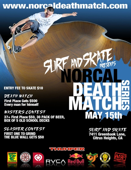 Surf And Skate Flyer E