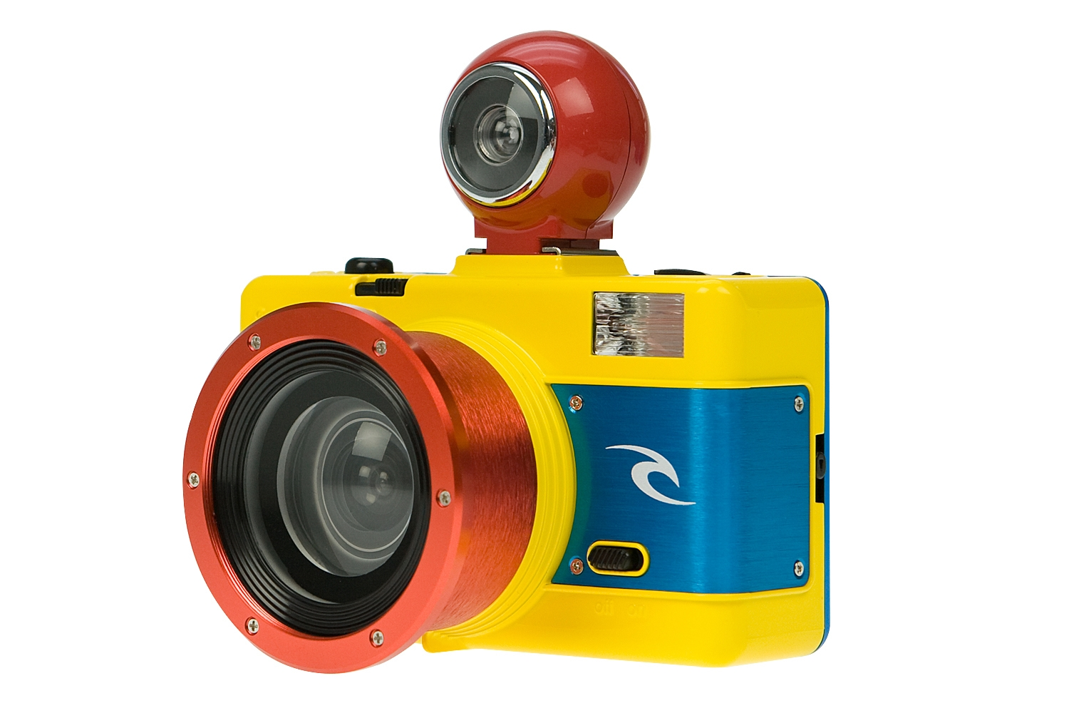 Rip curl x lomography underwater hipstering for Fish eye camera