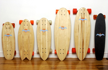 Old Floors Live Again With Glide Skateboards