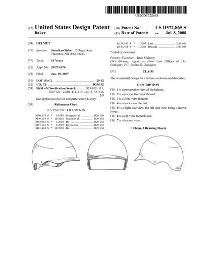 Brim Patent