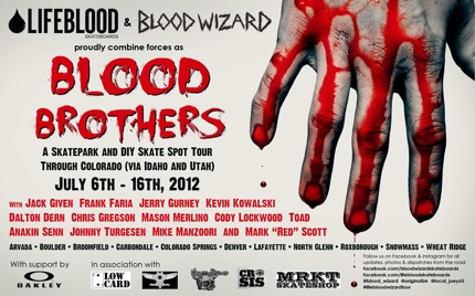 Blood Brothers Tour 2012
