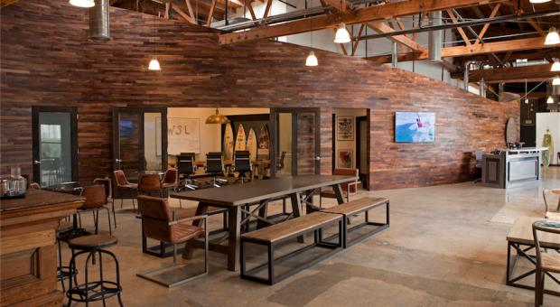World Surf League Renovates Custom Office Space