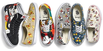 Vans-X-Disney Adult Footwear Pack Banner