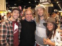 Jack Mitrani, Jake Burton, John Jackson, and Gabi Viteri.