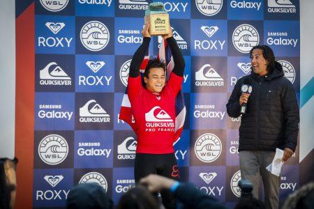 Keanu Asing (HAW) Winning Quiksilver Pro France 2016